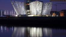 The Titanic House Vistor Centre (Peter Morrison/AP)