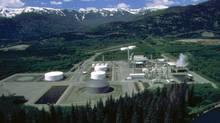 Methanex plant in Kitimat, BC.
