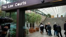 """The """"Surrey Six"""" murder trial continues in Vancouver, B.C. (DARRYL DYCK For The Globe and Mail)"""