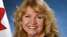 Senator Lynn Beyak says she will not resign in the face of calls to do so. She has been widely criticized for her speech about the failure to acknowledge the 'abundance of good' to come out of Indian residential schools. (Senate of Canada)