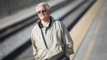 John Spaulding, a union official whose members would benefit from the construction, insists that the bullet-train-line project will be a huge boon for the struggling city of Bakersfield, Calif. (John Lehmann/The Globe and Mail)