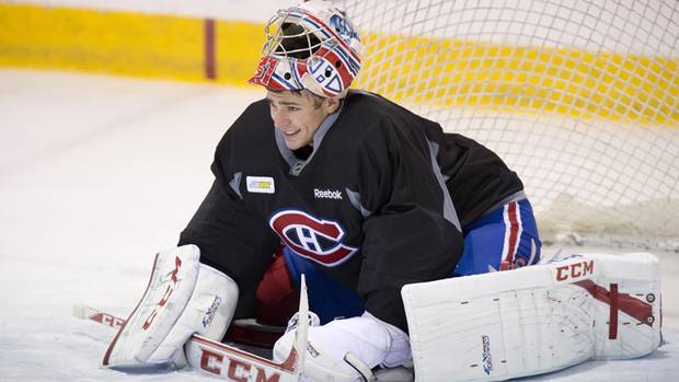 Goal - Carey Price of the Montreal Canadiens. (The Canadian Press)