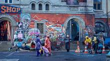 In The Zero Theorem, Christoph Waltz's Qohen Leth is a virtual package of tics, stutters and blocked emotions.