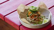 Bueno: A squid taco at Grand Electric in Toronto. (Tim Fraser for The Globe and Mail)