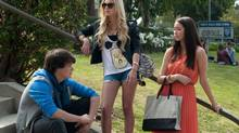 Israel Broussard, Claire Julien and Katie Chang in a scene from The Bling Ring. (Merrick Morton/A24 Films/AP)
