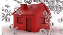 Interest rates falling on a house. (Robert Paternoster/Getty Images/iStockphoto/Robert Paternoster/Getty Images/iStockphoto)