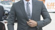 """Day 3: Ben Affleck poses on the red carpet at the gala for the movie """"Argo"""". (cp)"""
