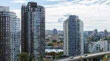 View from unit, Neon rental building, Vancouver. (Cressey Development Group)