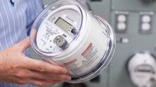 A BC Hydro smart meter. The smart meters wirelessly transmit data back to BC Hydro. (Brett Beadle for The Globe and Mail/Brett Beadle for The Globe and Mail)