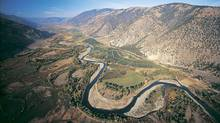 Peace, Fraser and Similkameen Rivers, and Pennask and Callaghan Creeks have been placed on most B.C.'s endangered waterways list. (Graham Osborne For The Globe and Mail)