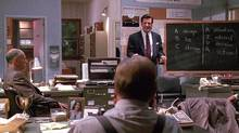 Aggressive sales tactics embodied by Blake (played by Alec Baldwin) in Glengarry Glen Ross (Alec Baldwin in Glengarry Glen Ross. Movie Still)