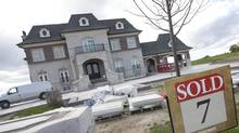 For Toronto houses above $4-million, sales swelled 52 per cent in 2013 compared with 2012. (Kevin Van Paassen/The Globe and Mail)