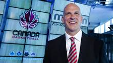 Canada Basketball held a press conference at the Air Canada Centre in Toronto on August 23, 2012 to announce Jay Triano, here, as the new head coach for the men's basketball team. (Peter Power/The Globe and Mail)