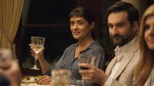 Salma Hayek plays Beatriz in Beatriz at Dinner, Mike White's black comedy of social positions. (Lacey Terrell/Globe and Mail Update)