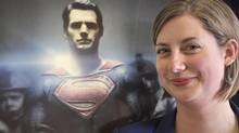 UBC professor Christine Schreyer spent two years as a consultant for Man of Steel, developing the Kryptonian language. (UBC)