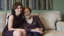Ten years ago, Donia Clenman, now 89, was diagnosed with Alzheimer's disease. Her daughter, Toronto behavioural neurologist Dr. Sharon Cohen, has devoted her research to finding a treatment. (Fred Lum/The Globe and Mail)