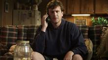 """Jason Segel in a basement scene from """"Jeff, Who Lives at Home"""""""