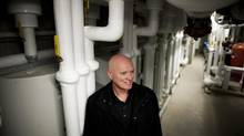 Lynn Mueller was working with geothermal heating when he realized wastewater could be used for heating. (Rafal Gerszak For The Globe and Mail)
