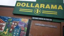 Dollarama in the Parkdale area of Toronto. (Peter Power / The Globe and Mail/Peter Power / The Globe and Mail)