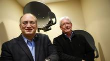 Xplornet CEO John Maduri, left, pictured with chairman William Barrett. 'Bundling works,' Mr. Maduri says. 'It is good for customers. It is good for the carrier.' (Deborah Baic/The Globe and Mail/Deborah Baic/The Globe and Mail)