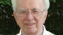 Conrad Meunier died in Ottawa of a ruptured aneurysm. He was 95.