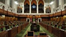 The House of Commons is pictured on April 9, 2013 on Parliament Hill in Ottawa. The next federal election will be held on Oct. 19, 2015 (Dave Chan For The Globe and Mail)