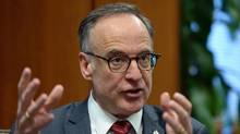 Liberal MP Rob Oliphant takes part in an interview on Parliament Hill in Ottawa on Feb. 26, 2016. Oliphant has been shepherding the proposed Genetic Non-Discrimination Act, also known as Bill S-201. (Sean Kilpatrick/THE CANADIAN PRESS)