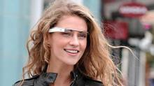 Google Internet-ready glasses are only a prototype, but a select few developers have big-name apps on the way. These include software from CNN, Evernote and Twitter. (Google/Associated Press)