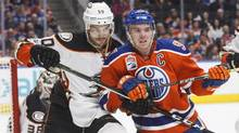 Now in his sophomore season after a broken collarbone limited him to only 45 of a possible 82 games a year ago, Connor McDavid met and exceeded all the hype and hyperbole that accompanied his NHL arrival which is, in itself, a remarkable development. (JASON FRANSON/THE CANADIAN PRESS)