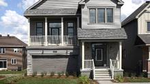 """Minto's """"Killarney"""" net-zero energy model home in Kanata. CEO Brian Johnston said consumers were unwilling to pay a significant mark-up for the houses, which cost an additional $100,000 each to build."""
