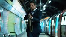 Gerard Butler's dark gusto is unexplained, and his character lacks the charisma and one-liners of fellow macho world-savers Rambo, James Bond and John McClane. (VVS)