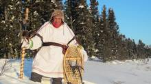 Isaac Kawapit led a group of six young men, aged 17 to 22, on a frigid 1,500-kilometre walk from the remote Whapmagoostui reserve in Quebec to Ottawa to raise awareness of the problems facing Canada's First Nations. (Stanley Jason George)