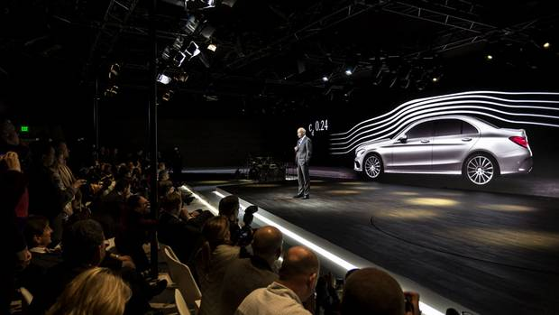 Launch of the Mercedes-Benz C-Class (JEREMY CATO for The Globe and Mail)