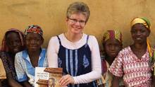 Kathy Knowles won $25,000 worth of computing equipment for her charity work in Ghana, and donated it to the Canadian Foodgrains Bank. (DEBORAH COWLEY)