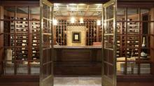 Nick Di Donato's basement wine cellar (Peter Power for The Globe and Mail)