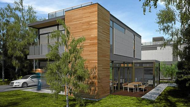 A toronto prefab home with a couture price tag the globe for Toronto house plans