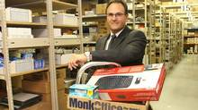 Monk Office Supply president James McKenzie. (COURTESY OF MONK OFFICE SUPPLY)