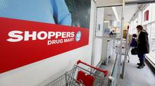 A Shoppers Drug Mart store in Toronto. (Deborah Baic/The Globe and Mail/Deborah Baic/The Globe and Mail)