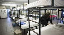 The agreement came shortly after three other BC Housing-funded temporary winter shelters, with 170 spaces in total, opened in November and were almost immediately reporting that they had to turn people away. (Rafal Gerszak For The Globe and Mail)
