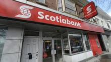 A Scotiabank branch in Toronto's Beach neighbourhood. (Fred Lum/Fred Lum/The Globe and Mail)
