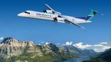 A WestJet Q400 NextGen aircraft is seen in this file photo. (HO/THE CANADIAN PRESS)