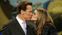 Schwarzenegger and Shriver: When the stakes are high, wives can go to great lengths to deceive themselves (Marcio Jose Sanchez/AP)