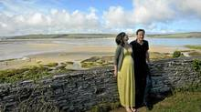 Samantha Cameron, the wife of British Prime Minister David Cameron, gave birth while on vacation in Cornwall. (BEN BIRCHALL/AFP/Getty Images)