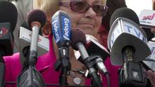 Lac-Mégantic Mayor Colette Roy-Laroche showed little anger at news conferences, but the rest of Quebec is less forgiving. (Peter Power/The Globe and Mail)