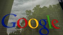 In this Thursday, April 12, 2012, photo, a Google logo is displayed at the headquarters in Mountain View, Calif. (Paul Sakuma/AP)