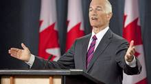 NDP Leader Jack Layton holds a news conference in Ottawa on July 29, 2010. (Sean Kilpatrick/The Canadian Press)