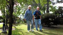 Barbara and Gary Grais are still able to take vacations together, as long as they have help or go somewhere Barbara is familiar with. (Peter Power/Peter Power/The Globe and Mail)