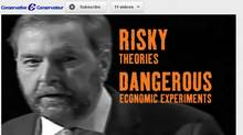 The Conservative Party unveiled English and French attack ads against NDP Leader Thomas Mulcair on June 25, 2012. (YouTube)