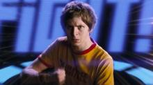 "In this film publicity image released by Universal Pictures, Michael Cera is shown in a scene from ""Scott Pilgrim vs. the World"". (AP Photo/Universal Pictures) (Copyright: © 2010 Universal Studios. ALL RIGHTS RE)"