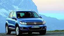 2012 VW Tiguan (Photographer:/Volkswagen)